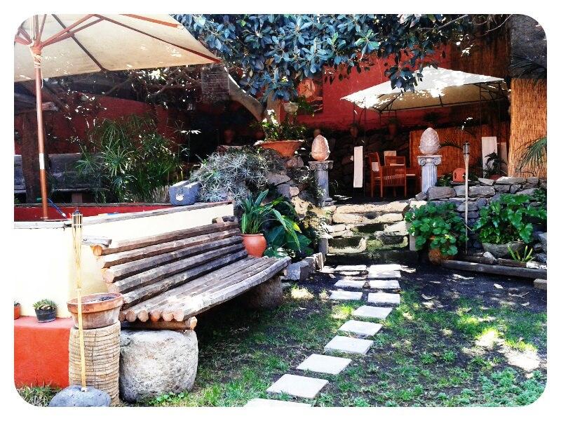 The open garden