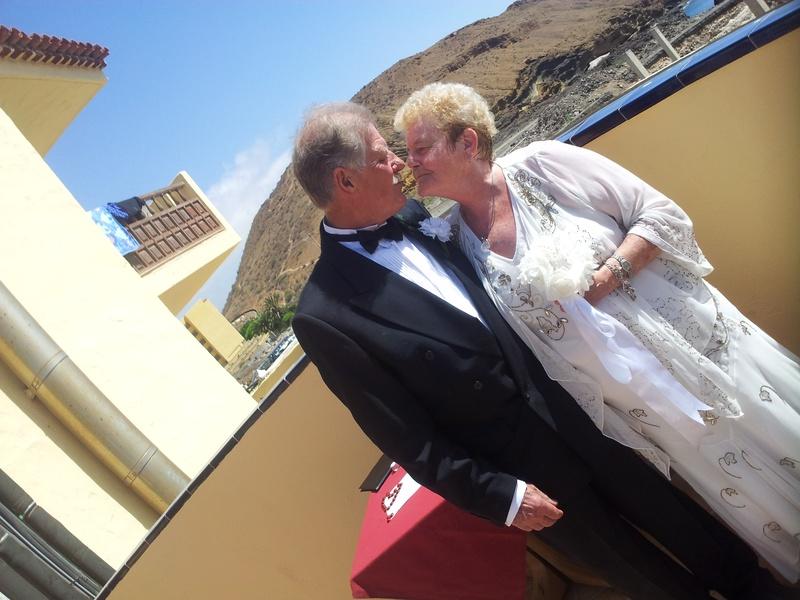On a beautiful day in Tenerife