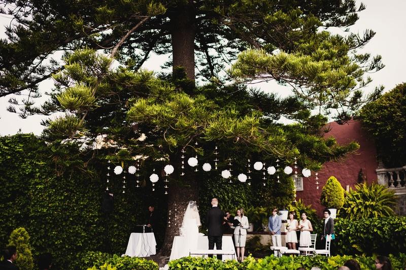 The ceremony location